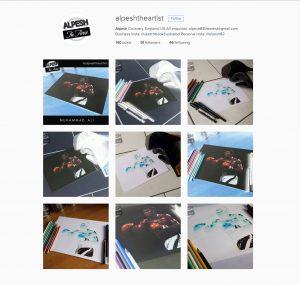 alpesh the artist 9 july 2016